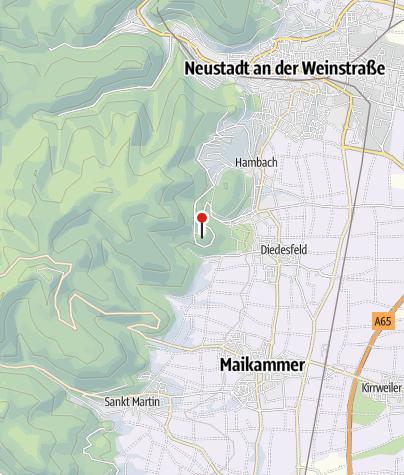 Carte / Le Chateau du Hambach