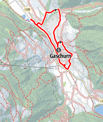 Map / Kinderwanderweg Gaschurn