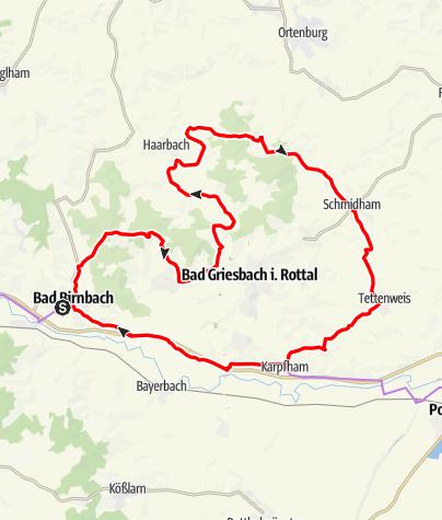 Karte / Dreifaltigkeit-Tour Nr.12