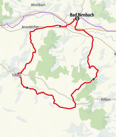 Karte / Dreimühlental-Tour Nr.4