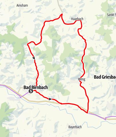 Karte / Holzland-Tour Nr.6