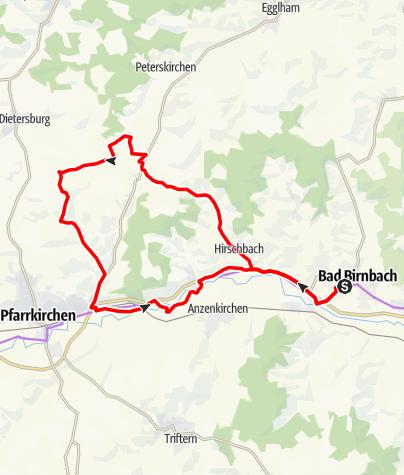 Karte / Mauswinkel-Tour Nr.7
