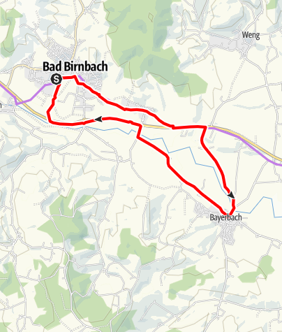Karte / St. Ulrichs-Tour Nr.1