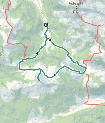 Map / Bergtour - Piesenkopf