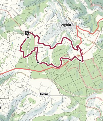 Karte / Traumschleife Wind, Wasser & Wacken