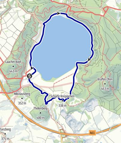 Karte / Kleine Runde um den Laacher See