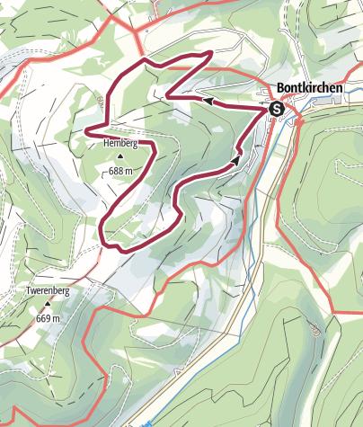 Karte / Brilon-Bontkirchen (Bk3)