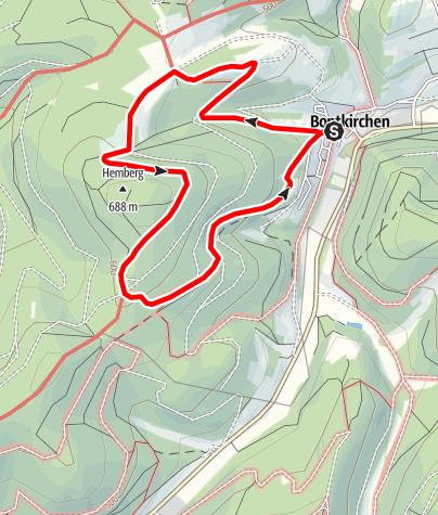 Map / Brilon-Bontkirchen (Bk3)