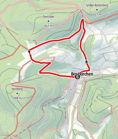 Kaart / Brilon-Bontkirchen (Bk4)