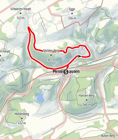 Map / Brilon-Messinghausen (M1)