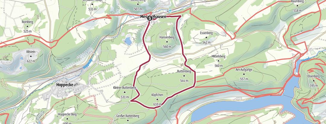 Karte / Brilon-Messinghausen (M5)