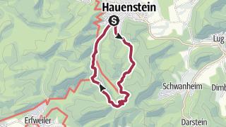 Karte / Hauenstein-Dicke Eiche-Winterkirchl-Hauenstein