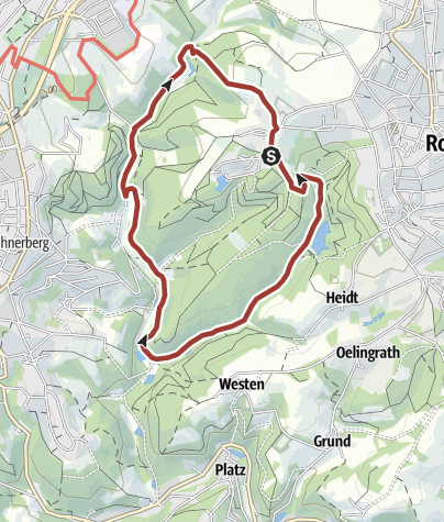 Karte / Historisches Gelpetal