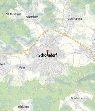 Karte / Stadtinfo Schorndorf