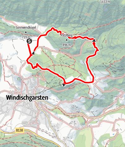 Karte / Erlebnisweg Natur-Spuren (Windischgarsten)