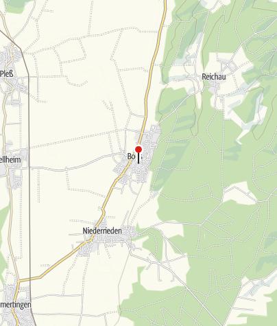Karte / Gemeindebücherei Boos