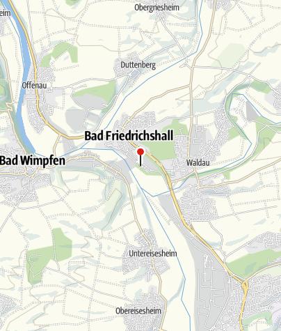 Karte / Biergarten Saline - Gastgeber