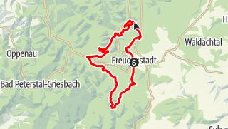 Karte / Freudenstadt: Zwei-Täler-Tour