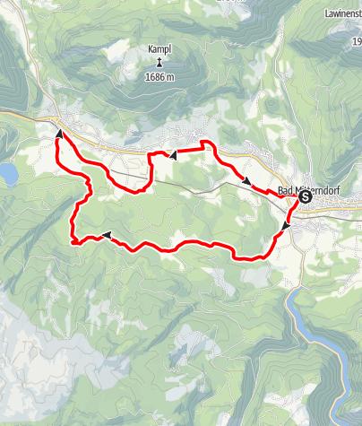 Karte / Almgraben Rundweg
