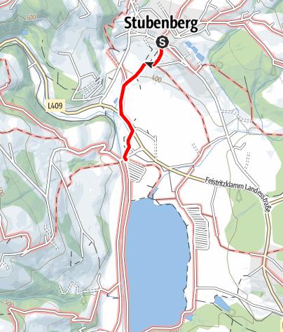 Karte / Seeweg - zum Stubenbergsee