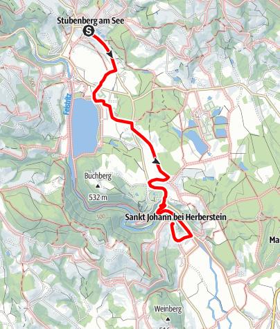 Karte / Herbersteinweg
