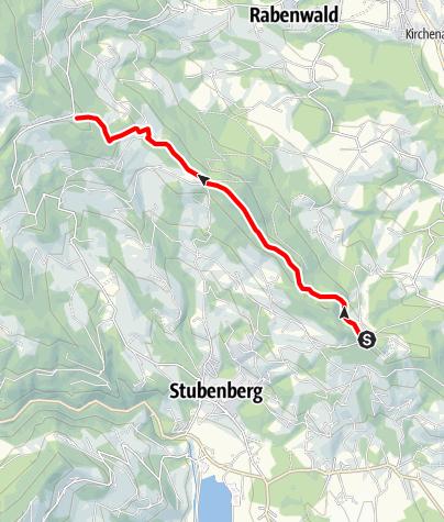 Karte / Buchkogel- Höhenweg