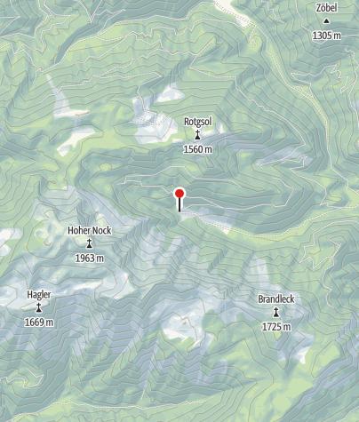 Karte / Umkehrhütte