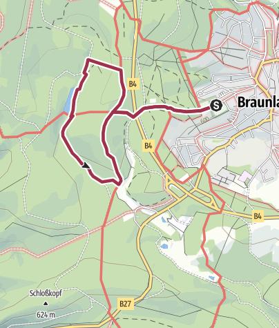 Karte / Erlebniswanderung auf dem Naturmythenpfad