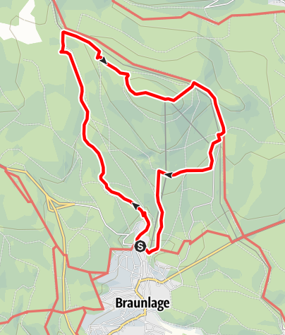 Karte / Wurmberg-Gipfeltour