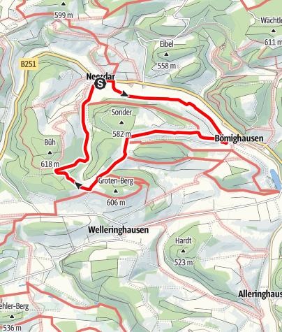 Karte / Willingen-Neerdar (N2)