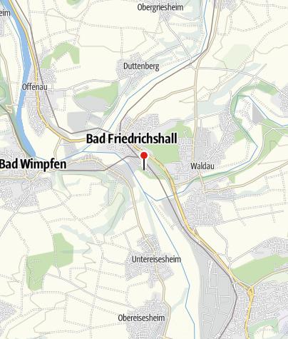 Karte / RadServiceStation Biergarten Saline