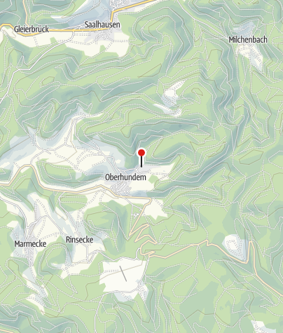 Karte / Wanderportal Oberhundem Haus des Gastes