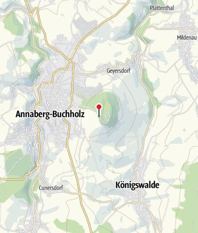 Karte / Annaberg-Buchholz, Ernst-Roch-Straße