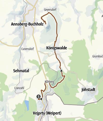 Map / Stoneman Miriquidi Abschnitt Bärenstein Pöhlberg