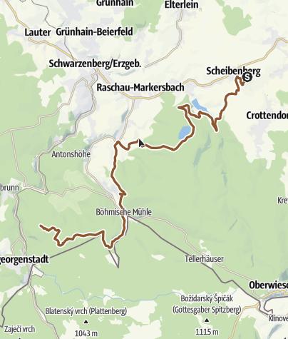 Map / Stoneman Miriquidi Abschnitt Scheibenberg Rabenberg