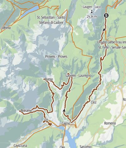Map / The Rankipino Bike Route