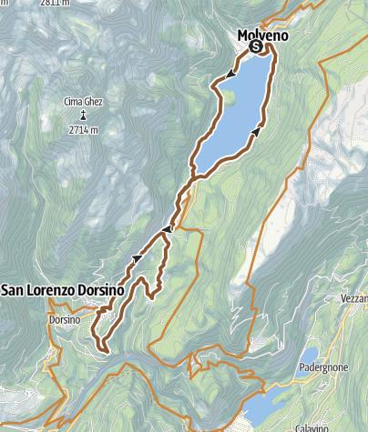 Mappa / 44 - Molveno - Nembia - Moline – S. Lorenzo in Banale