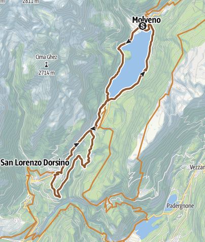 Map / 44 - Molveno - Nembia - Moline – S. Lorenzo in Banale