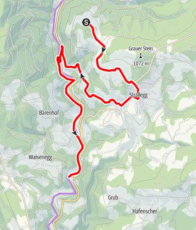 Karte / Bründlweg