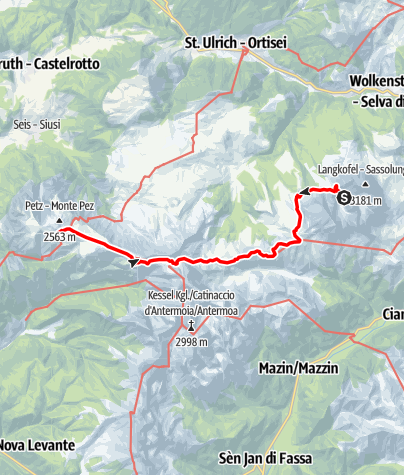 Map / Gröden 2000 (G2K) - Tag 5