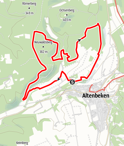 Karte / Durbeke-Steig