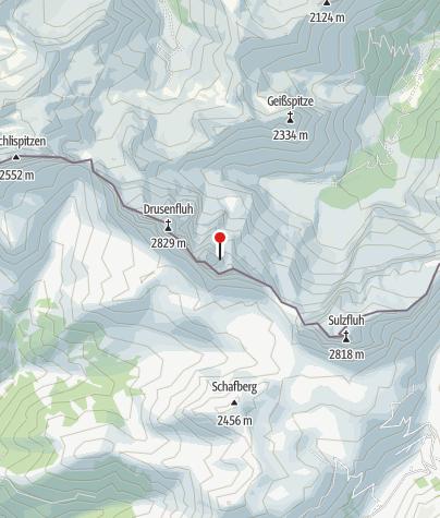 Karte / Drei Türme (2.830 m)