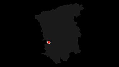 Karte / Schlösserrunde Radrundtour 1