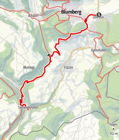 Map / Genießerpfad Sauschwänzle-Weg