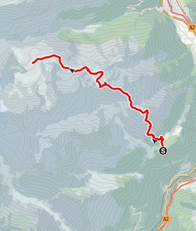 Karte / Arni - Ruchälplistock - Jakobiger - Kröntenhütte