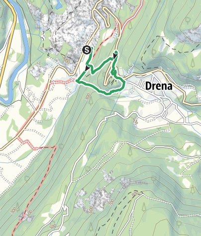 Map / Via Ferrata Rio Sallagoni
