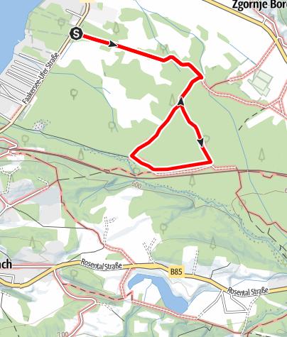 Karte / NaturAktivPark Faaker See - Natur aktiv entdecken