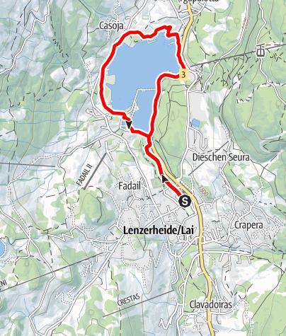 Map / Lake Tour