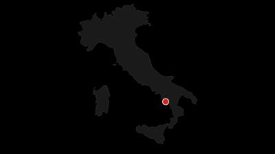 Karte / Küstenwanderung von Marina di Camerota zum Porto Infreschi (zurück mit dem Boot)