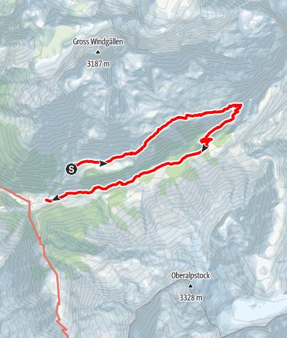 Karte / im Tal der 1000 Wasserfälle